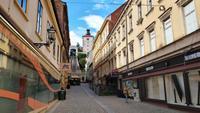 002u Zagreb, Standseilbahn und Stadtturm