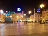 Zagreb am Abend