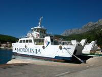 Fährüberfahrt zur Insel Hvar