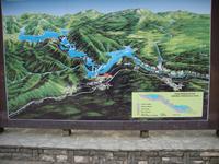 Relief an den Plitwitzer Seen
