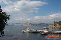 Brücke zur Insel Krk