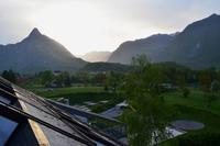 261 Bovec_Hotel Kanin_Sonnenaufgang