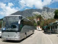 Unser Reisebus in Orebic