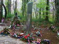 Gedenken an das erste Opfer des Krieges 1991
