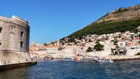 106 Dubrovnik, Altstadthafen mit Johannesfestung