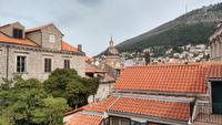 018 Dubrovnik, Mauerrundgang - Blick zur Kathedrale