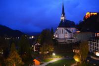 121 Abendstimmung in Bled