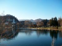 Bled, Blick zur Martinskirche
