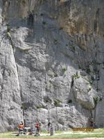 IMG_3252 Kletterer in der Schlucht von Cetina