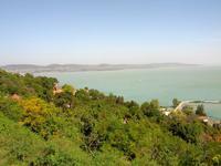 Tihany; Blick über den Balaton