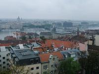 Blick von der Fischerbastei auf Budapest