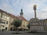 Stadtführung in Sopron_Hauptplatz mit Dreifaligkeitssäule