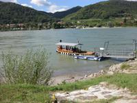 Fähre über die Donau bei Dürnstein