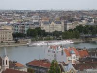 Budapest - Die MS Rossini hat angelegt