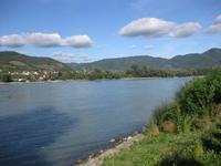 Die Donau bei Dürnstein in der Wachau