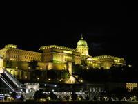 Ausfahrt aus Budapest - Schloss