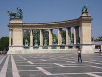 Heldenplatz - Budapest