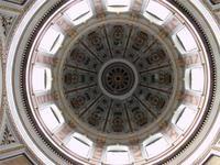 Blick in die Kuppel des Doms von Esztergom