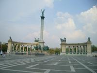 der Heldenplatz in Bufapest
