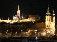 Silvesternacht - Blick auf die Stadt