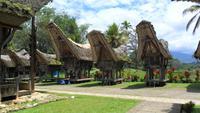 086 Sulawesi - Toraja-Häuser
