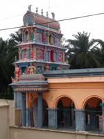 Gopuram des Kellie-Tempels