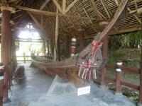 Einbaum der Batak-Toba