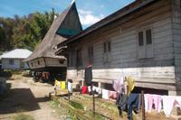 typisches Batak-Karo-Haus