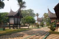 Minangkabau-Ensemble im Museum von Bukittinggi