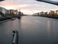 Vor unserem Hotel in Dublin