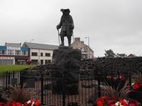 William III., Standbild in Carrickfergus