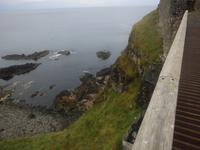 Steilküste am Dunluce Castle
