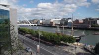 Dublin  - Blick vom Hilton Hotel
