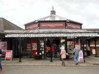 Zwischenstopp in Wales`-im Ort mit dem längsten gälischen  Namen(s.o.)
