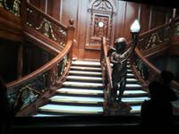 im Titanic-Museum