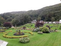 Garten der Kylemore Abbey