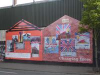 Mural paintings in Belfast