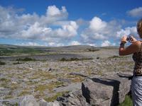 im steinigen Gebiet des Burren