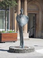 Statue W. B. Yeats