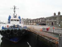 Am Hafen in Cork