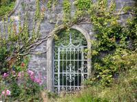 Im walled Garden auf Ilnacullin