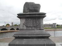 Stone of  broken treaty in Limerick
