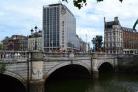 Stadtspaziergang in Dublin - O'Connell Bridge