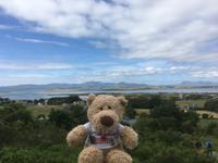 Am Croagh Patrick - Blick auf die Clew Bay
