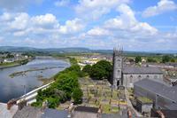 Limerick - Blick vom King John's Castle auf den Shannon