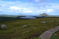Wanderung im Connemara-Nationalpark