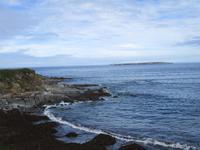 Rough Point mit Blick auf die Magharee Islands