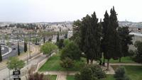 Blick von der Stadtmauer in Jerusalem 20180328_092313