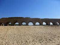 2.Tag, 25.10.2013: Aquädukt in Caesarea