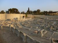 8.Tag, 31.10.2013: Israel-Museum (Modell von Jerusalem zur Zeit des Zweiten Tempels)